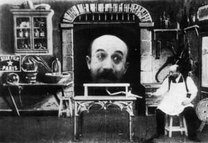 fotogramma da un film di Melies
