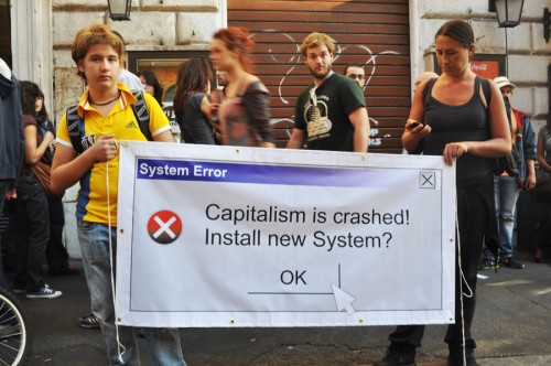 Capitalism is Crashed! Install news system?